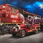 Trenul lui Moș Craciun Cluj-Napoca – Huedin va circula în intervalul 05–22 decembrie!