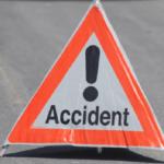 Un tânăr de 24 de ani a intrat în coliziune cu parapeții metalici de pe marginea  DJ 107 H (Galda de Jos – Cricău)